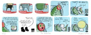 a_caterpillar_print